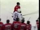 хоккей драка жесть