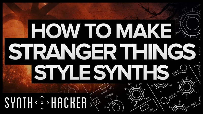 How To Make Stranger Things Style Synths (Synthwave Diva Serum Tutorial)