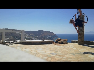 Alecia Fox /Alice Man Amazing morning with a beautiful view in Greece