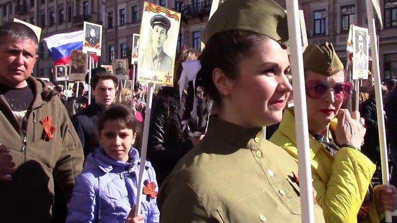 Бессмертный полк СПб 9 мая 2018 (12)