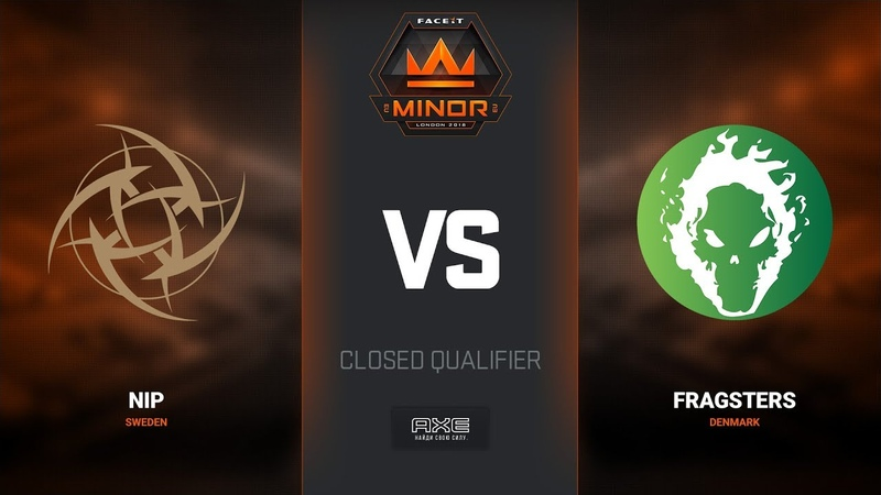 NiP vs Fragsters, map 1 train, Europe Minor Closed Qualifier – FACEIT Major 2018