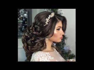 Эффектный пучок для невесты