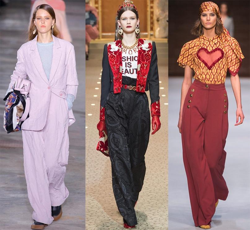 какие брюки в моде 2019 женские
