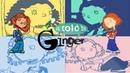 1397-As Told By Ginger-Nickelodeon Spoof Pixar Lamps Luxo Jr Logo