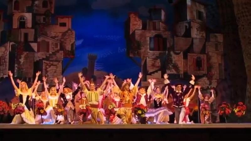 27 06 2018 Kremlin Ballet Кремлевский балет CIPOLLINO premiere excerpts Чиполлино Премьера фрагменты part часть 4