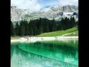Доломитовые Альпы и озеро Lago Montagnoli. Италия. 26.08.2018.