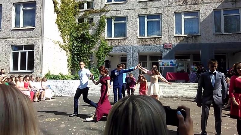 Вальс😻 выпуск2018 МБОУ СОШ 3 г.Киржач