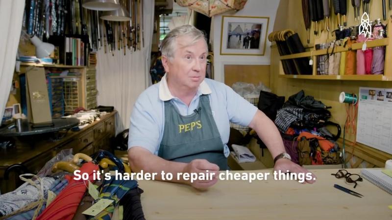 Meet One of Europes Last Umbrella Repairmen
