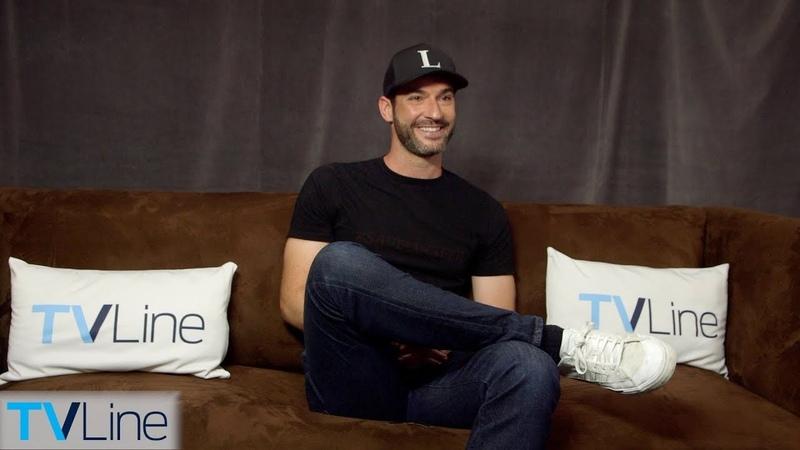 Tom Ellis Talks Lucifer Nudity Netflix Move | Comic-Con 2018 | TVLine