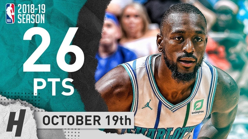 Kemba Walker Full Highlights Hornets vs Magic 2018 10 19 26 Points in 3 Qtrs