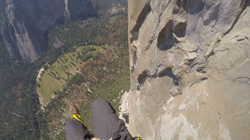 2,650 rappel off El Capitan in Yosemite, July 2016