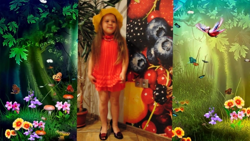 Киселева Даша, 5 лет, д. Чечулино