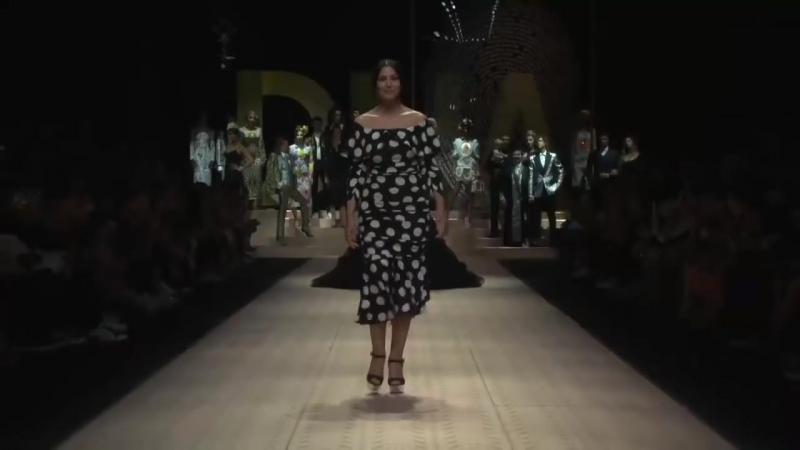 Monica Bellucci, Eva Herzigova and Carla Bruni for Dolce Gabbana - S-S 2019