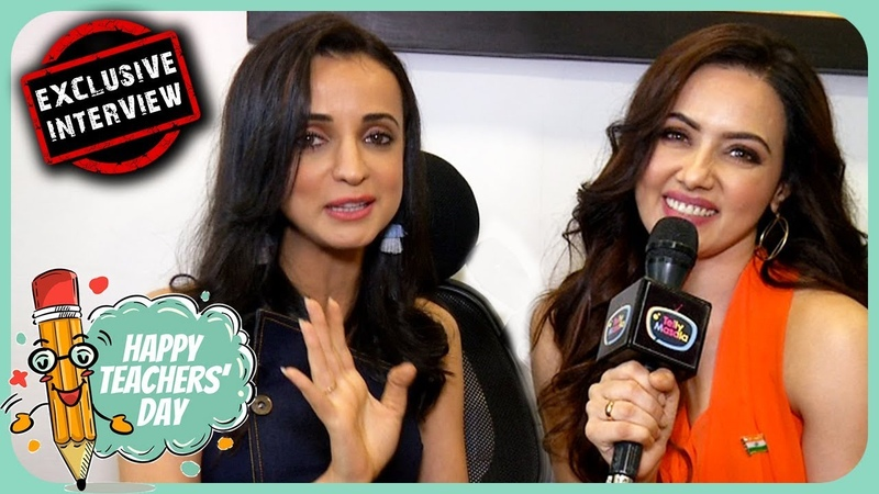 Sanaya Irani And Sana Khan Explain The IMPORTANCE OF EDUCATION - Exclusive | Teacher's Day Special