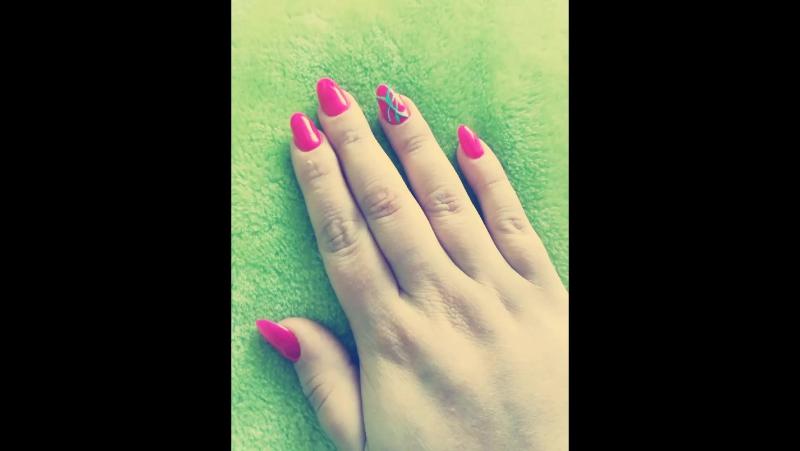 мои ногти - это гель-лак 😍😍💅 @nagudizains  geliniainagai gelish gelishnail gelpolish manikiuras nails💅  nails maniciureh