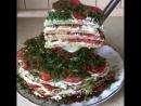Очень вкусный овощной торт из кабачков🍽