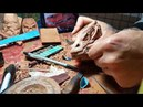 Making Smaug pipe wood carving Demonstration