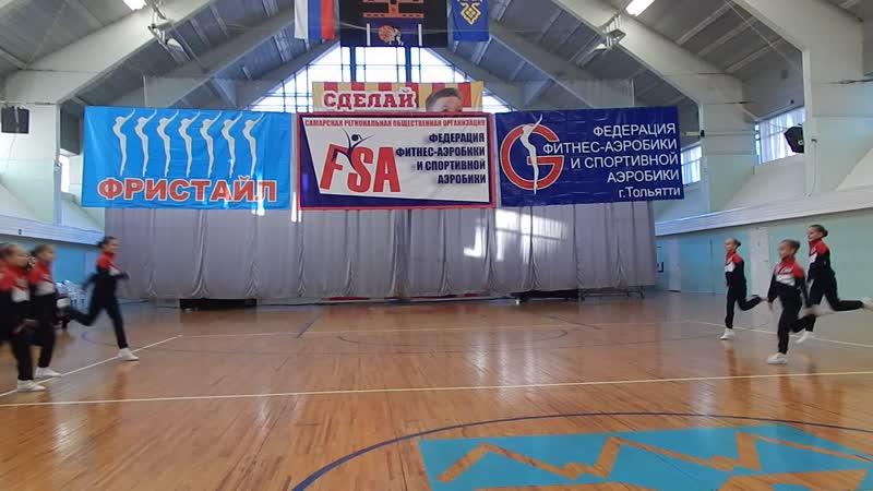 Ладушки Волгарики на фитнес-конвенции