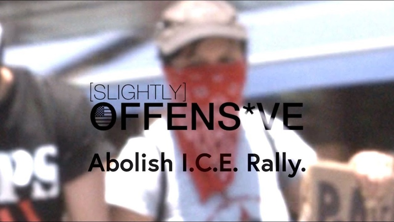 Abolish ICE Rally **PUNCHED by ANTIFA** Maxine Waters Confronted*