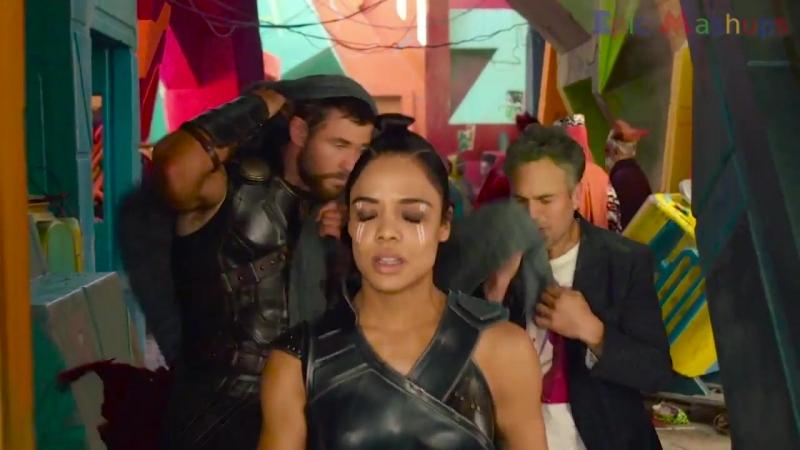 Мстители: Война Бесконечности - Как менялись Крис Хемсворт и Тесса Томпсон / Avengers- Infinity War - Thor And Valkyrie