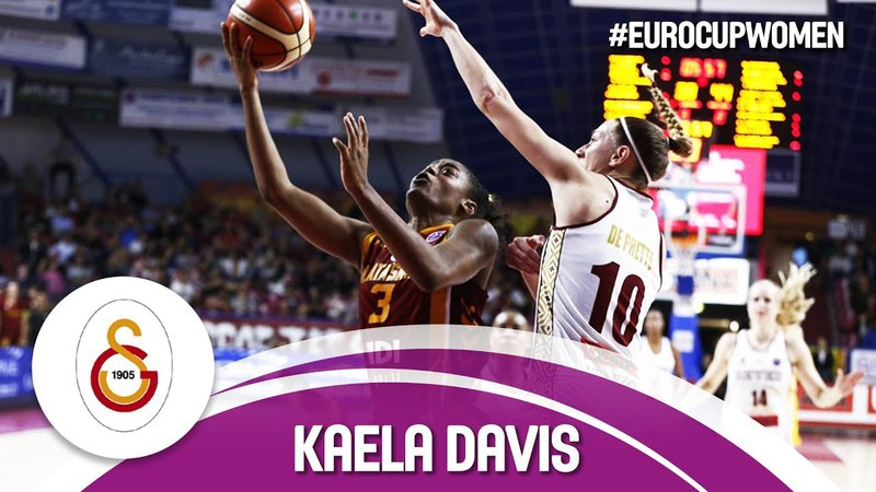 Kaela Davis' 21PTS secure 2nd ECW title for Galatasaray!