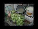 Консервация зеленых помидор