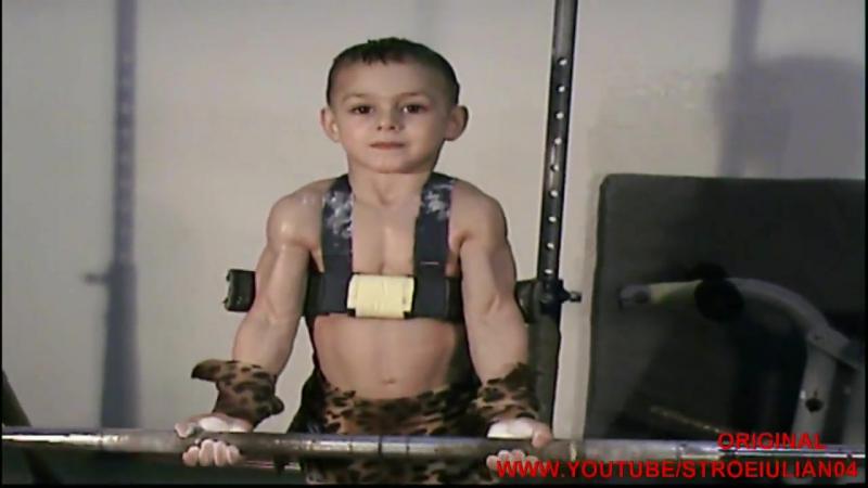 Cel mai puternic copil din lume-GIULIANO STROE