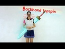 How to play backhand topspin——Yangyang's table tennis lessons