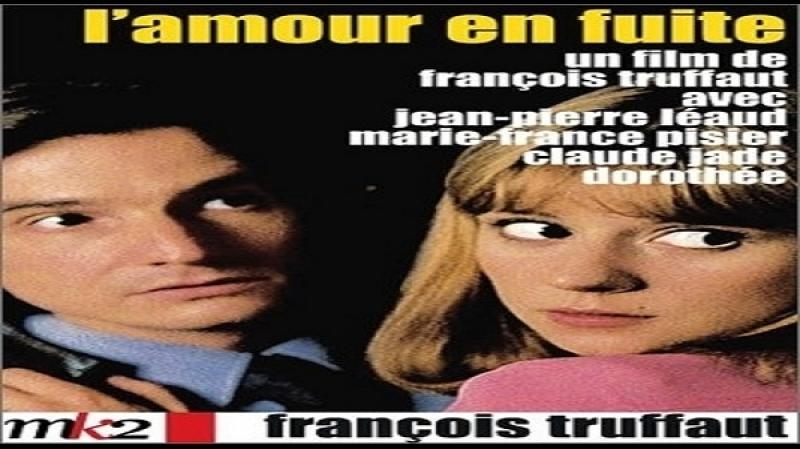 1979 F.Truffaut - L' amore fugge - Marie-France Pisier Jean-Pierre Léaud Claude Jade
