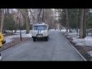 ППС МВД Уфы ездят по пешеходным тротуарам парка_В ПАРКЕ ИМ. М.ГАФУРИ
