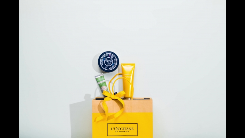 Fun with L'Occitane
