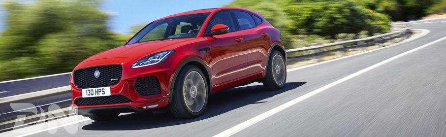 Тест-драйв и обзор Jaguar E-Pace