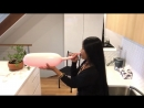 MacVille - Baby Pink Balloon - Blowing a Long Balloon - My First Time Ever