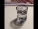 Стакан воды.