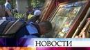 В Екатеринбурге сто тысяч верующих совершили крестный ход в память о семье Романовых.