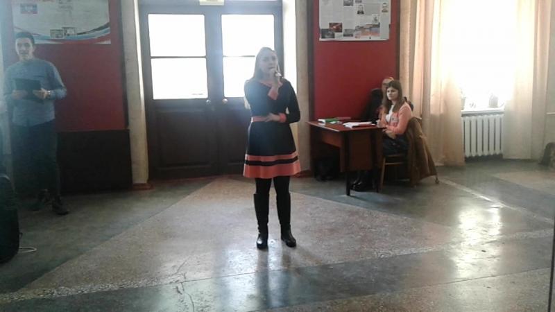 Выступление Алины Гусаренко