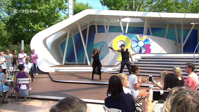 Snap! - Rhythm is a Dancer (ZDF-Fernsehgarten - 2018-08-12)