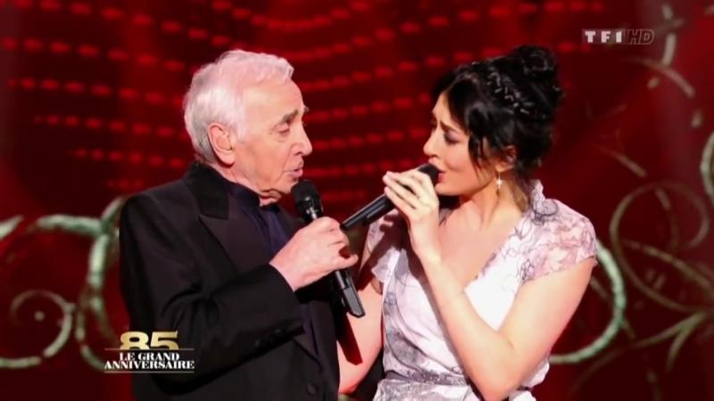 Charles Aznavour Nolwenn Leroy-mourrir d aimer [HD]