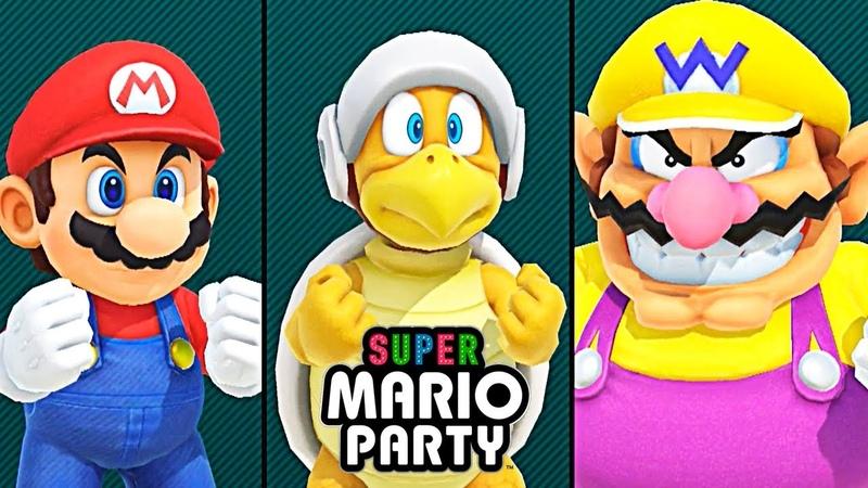 СУПЕР МАРИО ПАТИ 1 Игровой мультик для детей 2018 Super Mario Party Детский летсплей на СПТВ