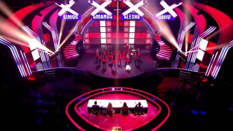 INNOVA Irish Dance Company are the belles of BGT - Britain's Got Talent 2014