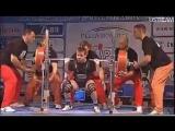 Гладких Сергей до 66 приседает 307.5 кг в однослойной экипировке