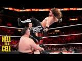 (WWE Mania) Hell in a Cell 2018 AJ Styles (c) vs. Samoa Joe - WWE Championship