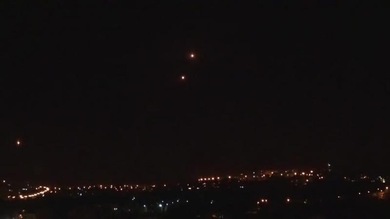 Неудачная стыковка и взрыв НЛО! Израиль, Иерусалим 01.01.2017
