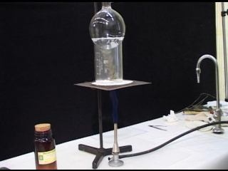 Возгонка бензойной кислоты