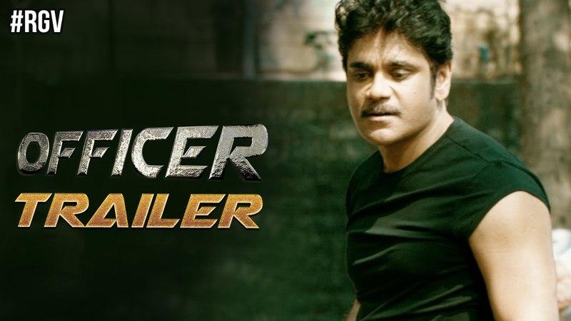 RGV's Officer Movie Trailer | Nagarjuna | RGV | Myra Sareen | Ram Gopal Varma | OfficerTrailer