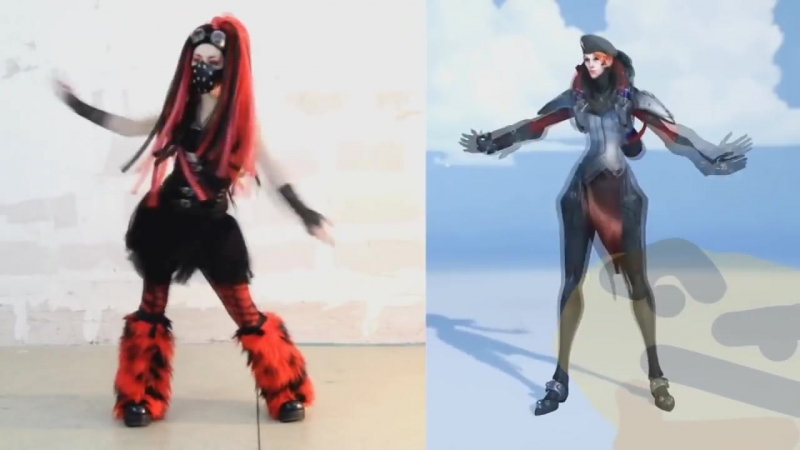 Moira is a cybergoth confirmed.overWC