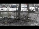 Затопило мостик за водоканалом