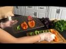 Рецепт №2 от RawMid - вяленые перцы с травами