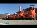 Парад коммунальной техники прошел в Липецке