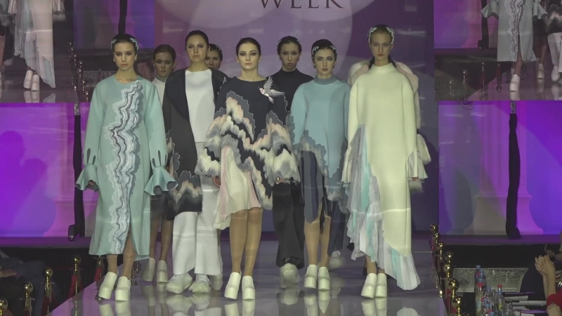 Модели агентства Linda в XV сезоне Международной недели моды Estet Fashion Week